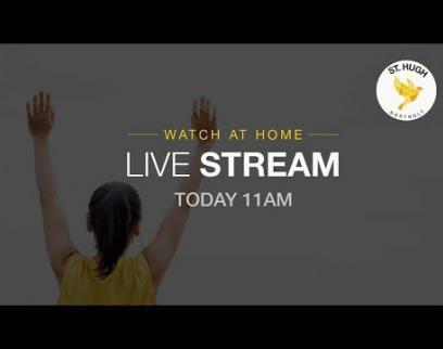 Embedded thumbnail for St Hugh Northolt Sunday Service 26 04 2020