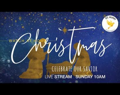 Embedded thumbnail for St Hugh Northolt Sunday 10am UK Service 20-12-2020