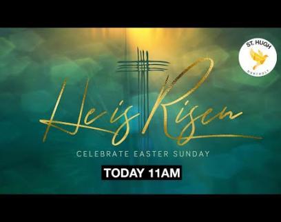 Embedded thumbnail for St. Hugh Northolt Live Stream, 11am, Easter Sunday, 12th April 2020