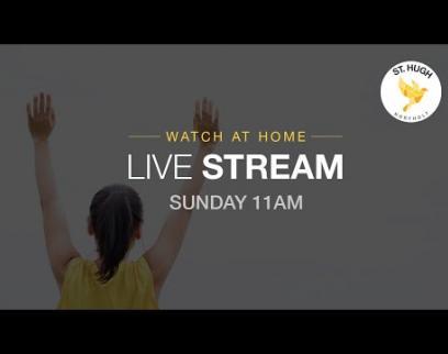 Embedded thumbnail for St Hugh Northolt Sun Service Live 22 November 2020